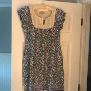 Calypso St Barth  cotton dress with beading